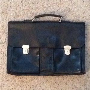 Dolce & GABBANA D&G Leather Briefcase Laptop Bag
